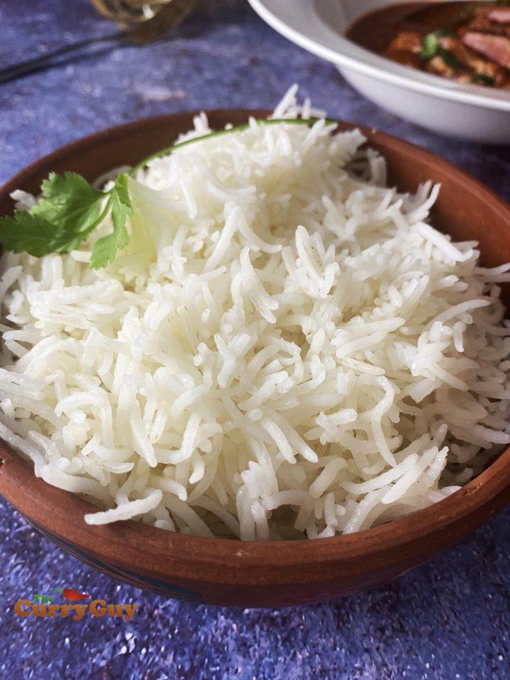 Basmati rice recipe photo