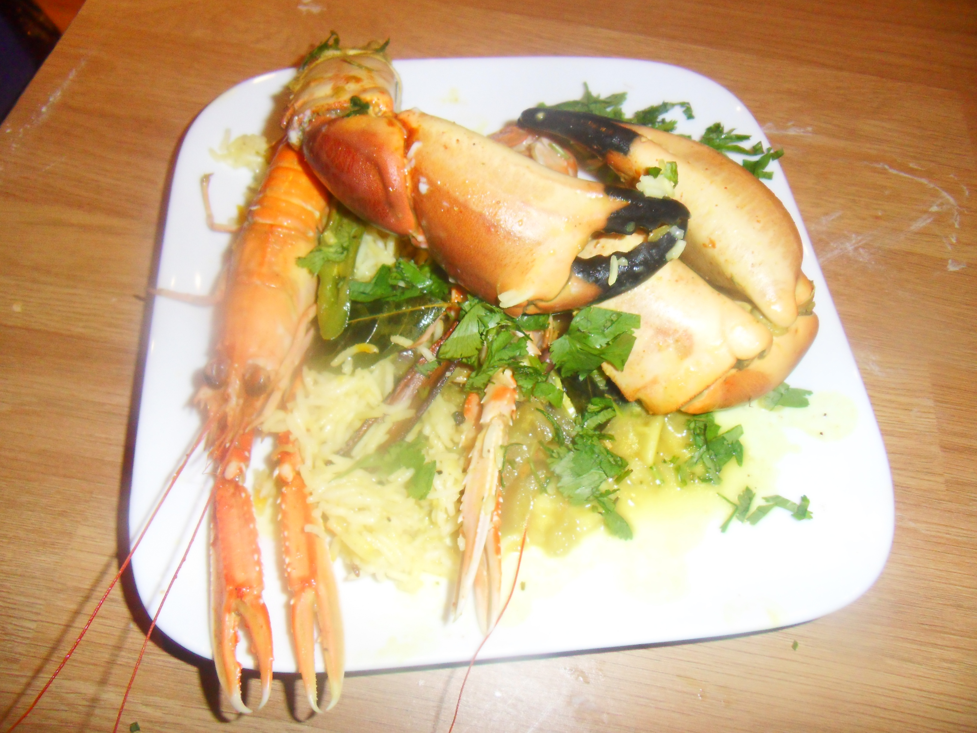 Indian Food Recipes – Langoustine and Crab Curry for All You Seafood Lovers Out There