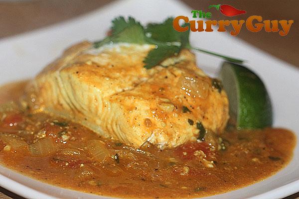 Punjabi Halibut Curry
