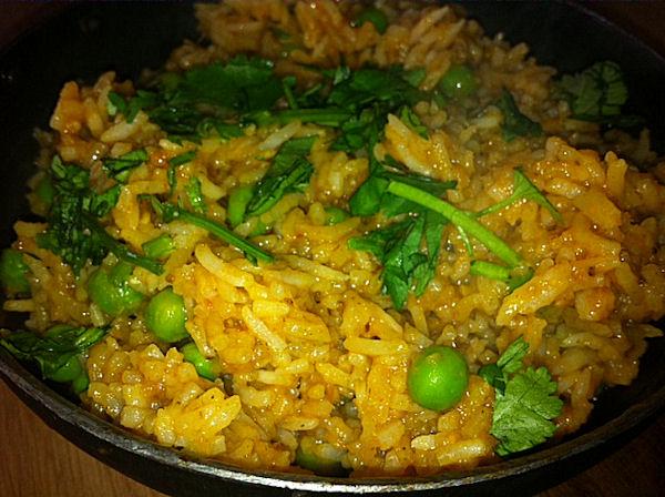 BIR rice pilau