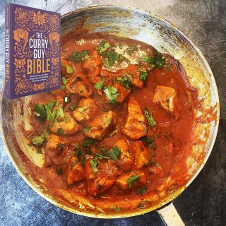 chicken pathia curry