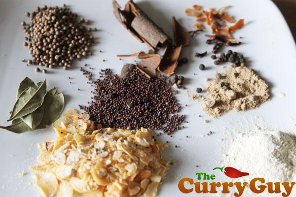 tandoori masala spices