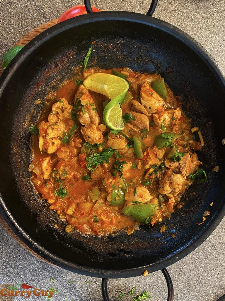 balti with chicken