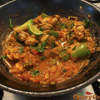 chicken balti from scratch