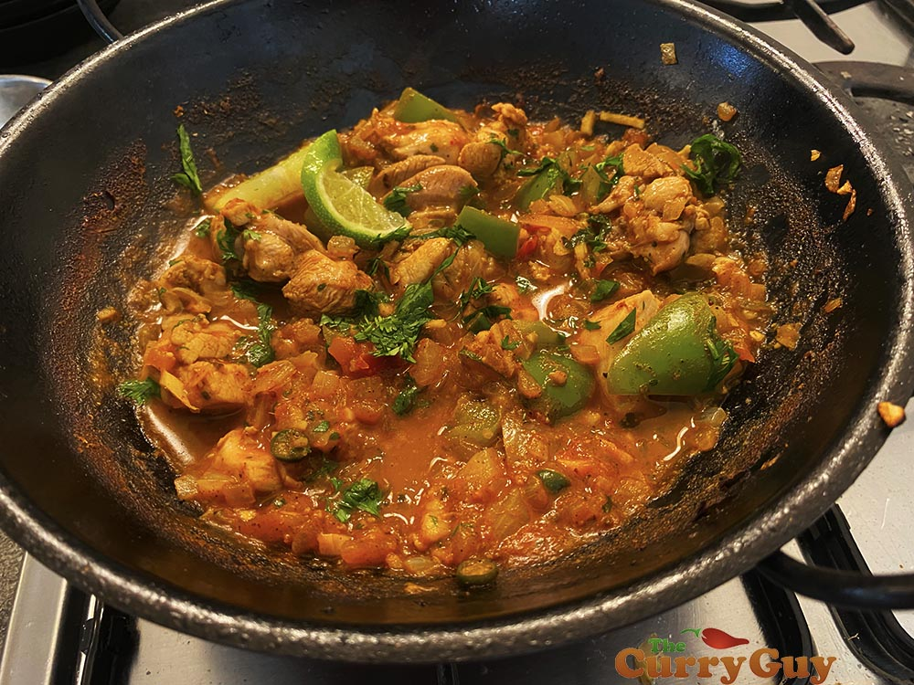 chicken balti from scratch