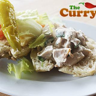 Indian Spiced Chicken Salad