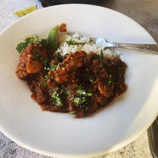 Chicken staff curry