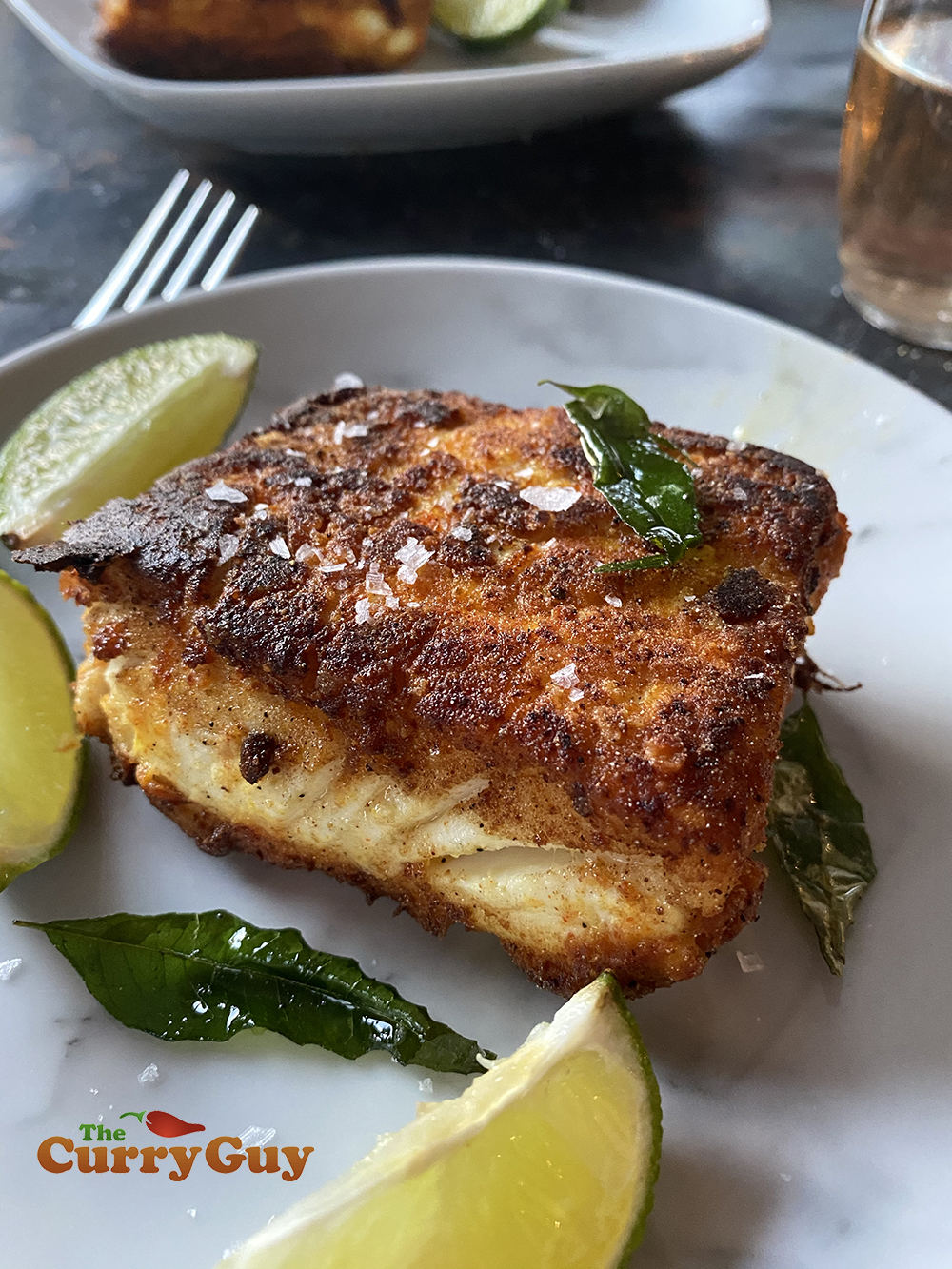 pan fried halibut  easy indian fried halibut recipe  the curry guy