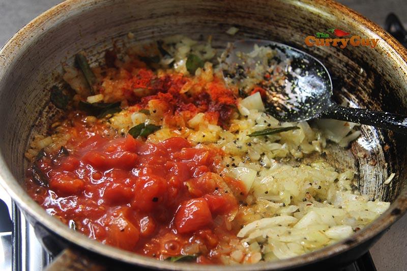 The base vindaloo sauce