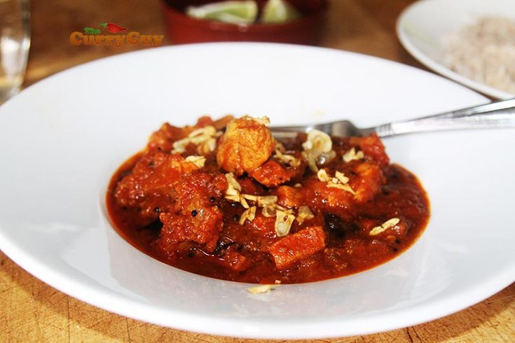 Goan pork vindaloo curry
