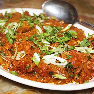 British Indian Restaurant Recipes – Duck Haas Patha Kobi