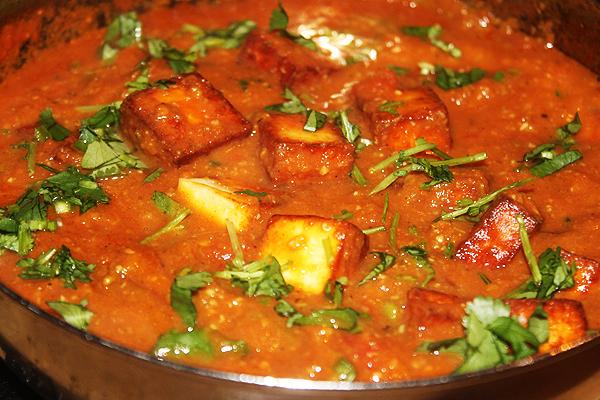 Paneer Masala Balti Curry