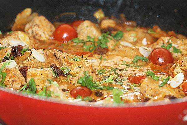 Peshawari Turkey Balti curry