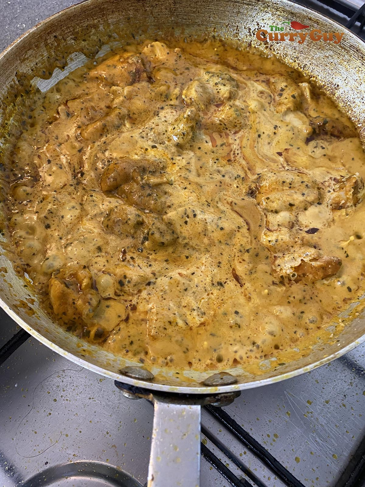 Chicken chasni curry without food colouring