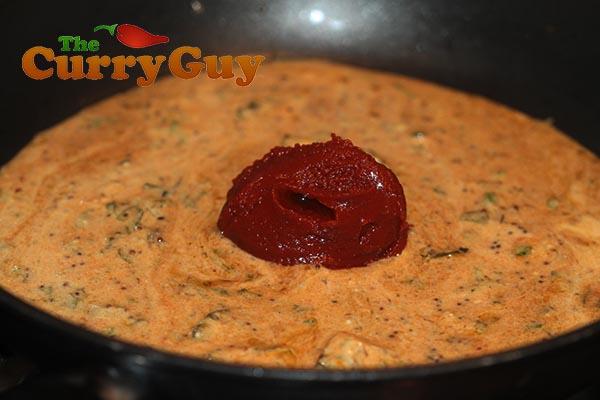 Tandoori wild duck sauce