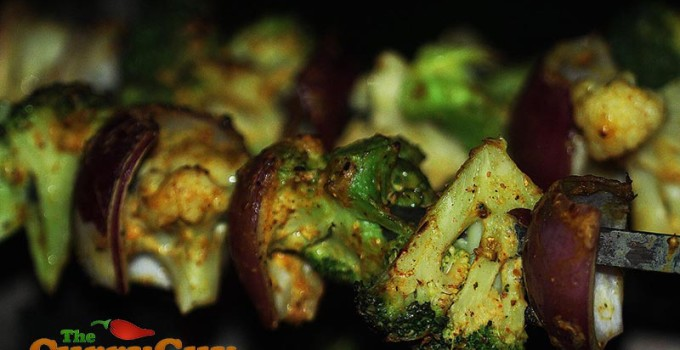 Tandoori Broccoli, Cauliflower & Onion
