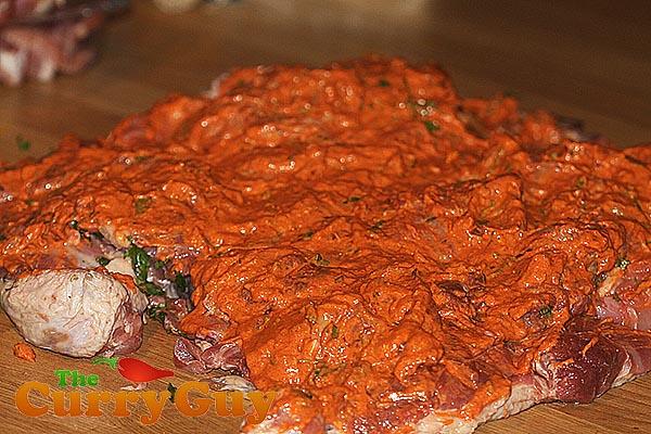 Tandoori Turkey | Deboned & Marinated Turkey | The Curry Guy