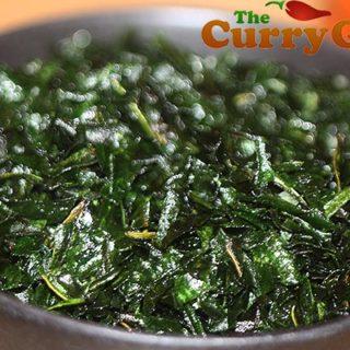 Crispy Fried Spinach