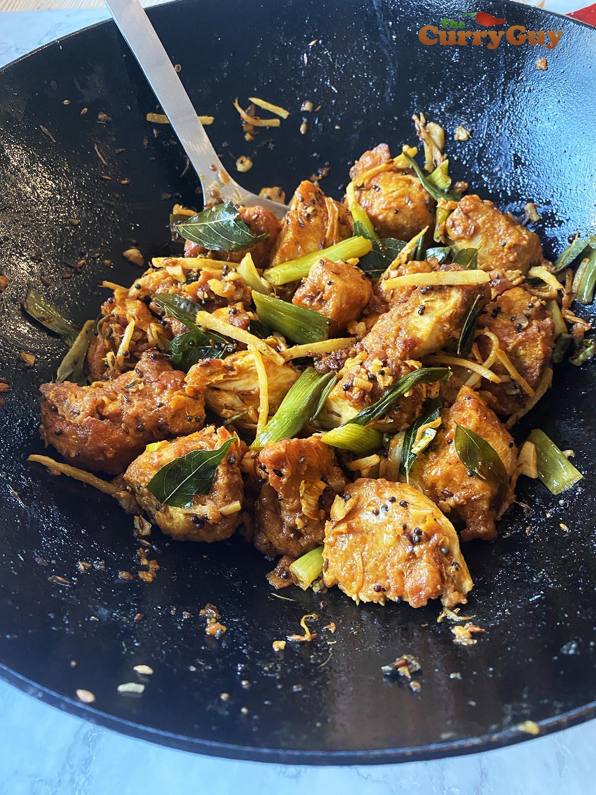 Chicken 65 curry