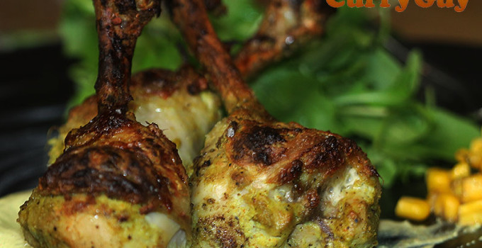 Tandoori Style Chicken Lollipops