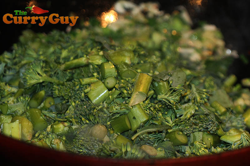 how to cook indian style broccoli