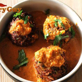 Malai vegetarian kofta curry