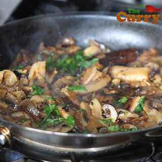 Easy Mushroom Curry