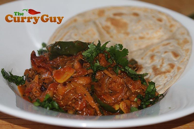 Black eyed bean curry