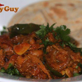 Keralan Black Eyed Bean Curry