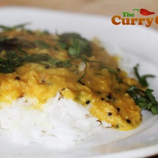 Keralan Masoor Dhal With Coconut