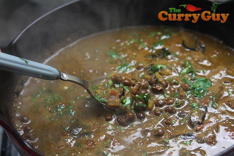 Kala channa curry