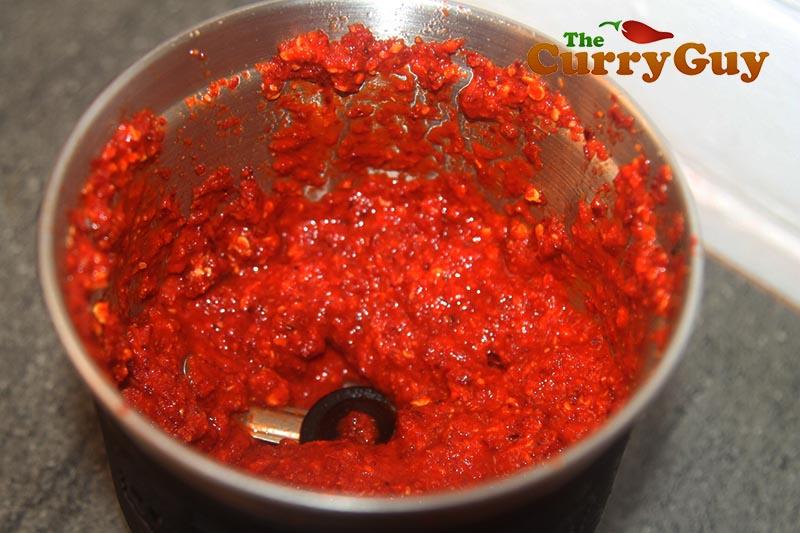 Making Szechuan sauce