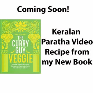Video Recipe – Keralan Parathas