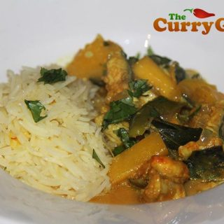 Mackerel and Mango Curry