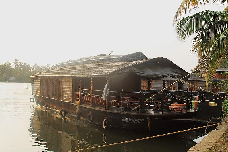 Rice Boat in Alleppey Backwaters