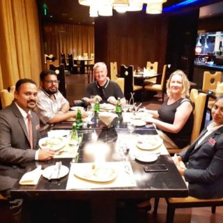 Dinner at Trilogi in the Crowne Plaza Kochi