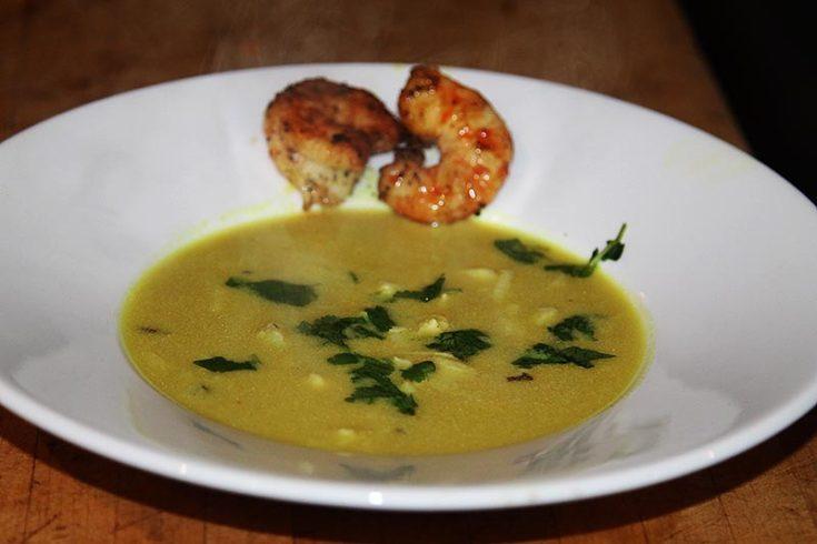 Thenga Paal Soup