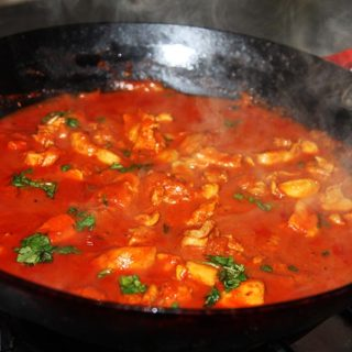 Garlic & Paprika Chicken Curry