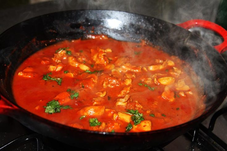 Garlic and paprika curry