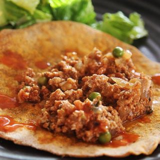 Turkey Keema with Peas