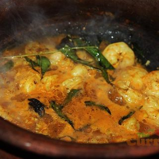 Easy Keralan Prawn Curry