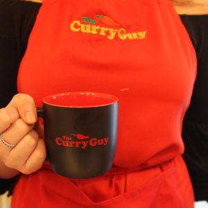 Curry Guy Mug and apron set
