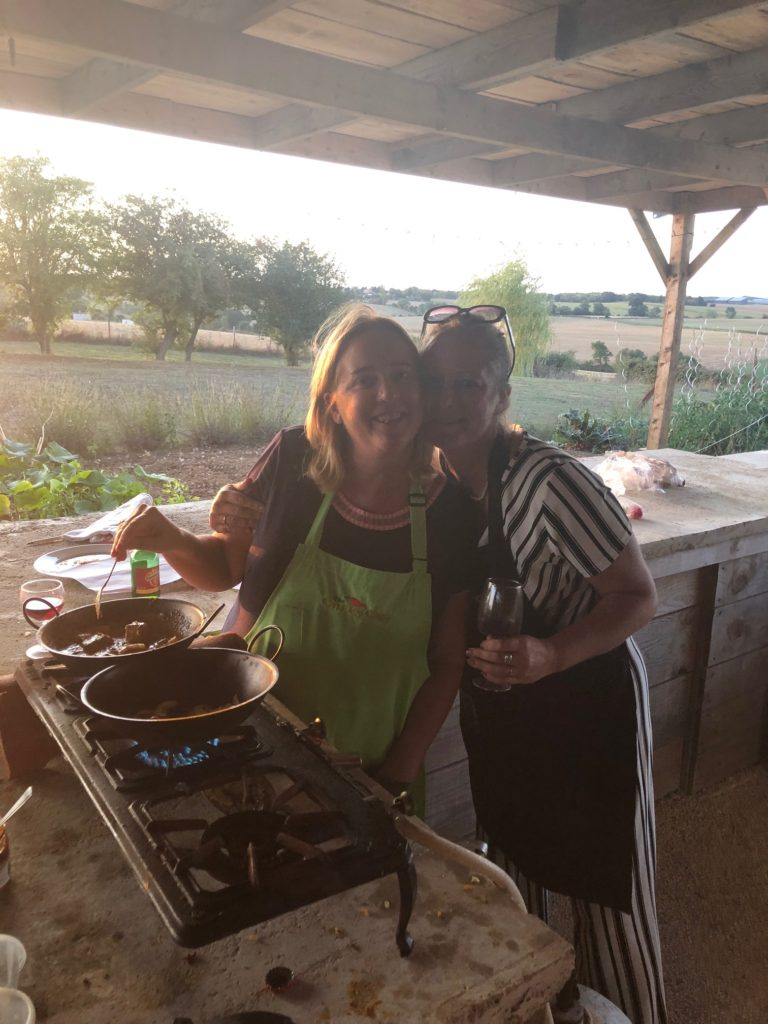 Cooking class in France