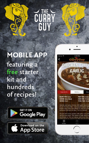 Curry Guy App ad