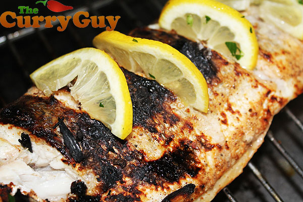 Tandoori Sea Bass Recipe By The Curry Guy