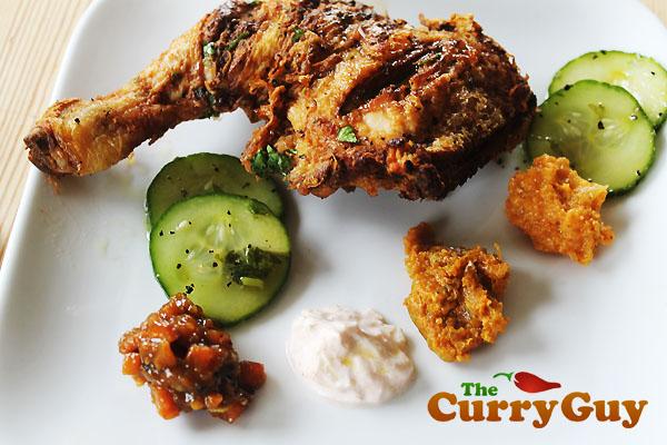 Spicy Indian Fried Chicken
