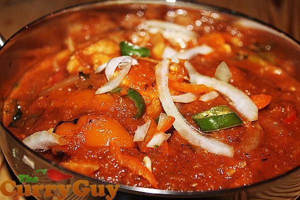 Restaurant Style Curries - How To Make Chicken Jalfrezi