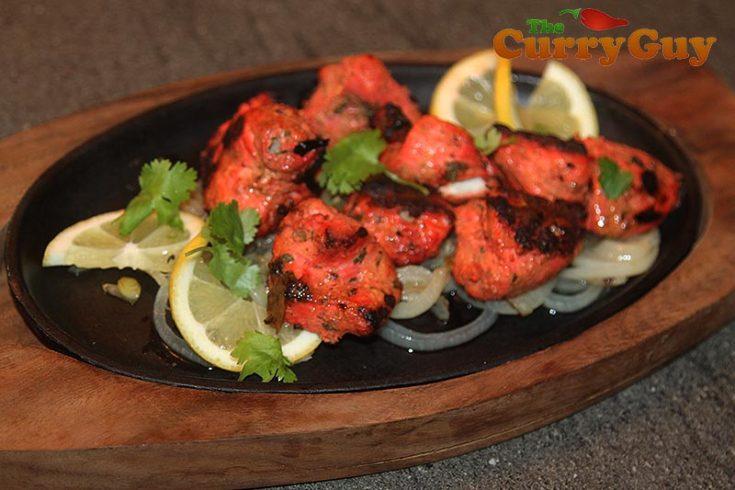 Low Fat Tandoori Chicken Tikka