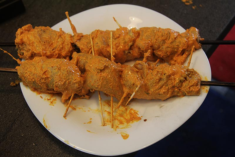stuffed chicken kebabs