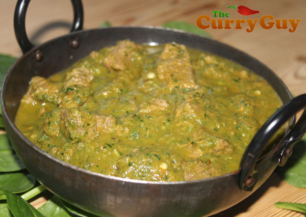 How To Make Lamb Saagwala - An Indian Restaurant Favourite